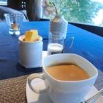 金仙寺湖畔三田屋 - 珈琲(紅茶かジェラートでもオケ♪)