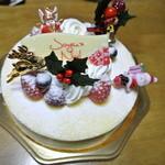 ピエールプレシュウズ - 2011クリスマスケーキ フロマージュ