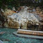 10941663 - かけ流しの露天風呂です。