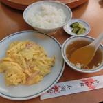 中国料理太湖飯店 - ハムと卵炒め900円