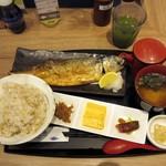 サバープラス - とろ鯖塩焼き定食