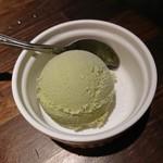 ぶあいそ博多 - 抹茶アイス