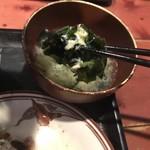 むちゃく - 中華スープの具材