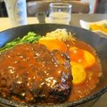 キッチン すみれ - ハンバーグ定食800円