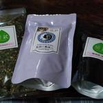 茶蔵 - 料理写真:購入した三種