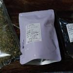 茶蔵 - 購入した三種(販売者名は承諾済)