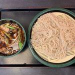 109415572 - 肉舞茸そば(冷) ¥500