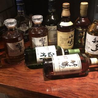 ウイスキー・マッコリなど豊富なドリンクが人気