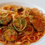 珈琲哲學 - 料理写真:なすモッツァレラトマトソース(大盛)