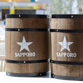 札幌生ビールやエビス黒生ビールが飲み放題♦日本酒や焼酎も♪