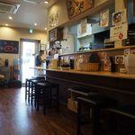 麺屋 銀次郎 - 店内(カウンター席)