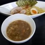 めん翔 - つけ麺 (並) トッピングあり