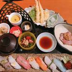 海鮮居酒屋 海老蔵 - 寿司上御膳 (税込2138円)