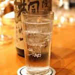 中俣酒造本店 銀座 茂助 - 薩摩 桐野 黄金千貫芋 本格焼酎のハイボール
