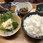 知床らうす亭 - 料理写真:煮魚定食