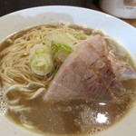 自家製麺 伊藤 - 肉そば(中)