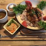 nori蔵 - 油淋鶏丼ランチ