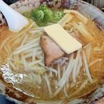 八龍 - 料理写真:味噌バターラーメン(大盛り)