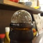 109437945 - 中瓶ビール(泡)