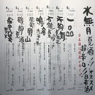【季節ごと'一番うまい'日本酒を47都道府県より取り寄せ!】