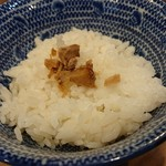 担担麺専門店 DAN DAN NOODLES. ENISHI - 〆ゴハン♪