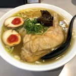 鶏王けいすけ - 鶏そば玉子入り(890円)