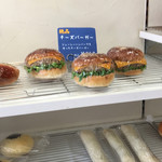 ウォークオン - 料理写真:チーズバーガーも、良いな♡