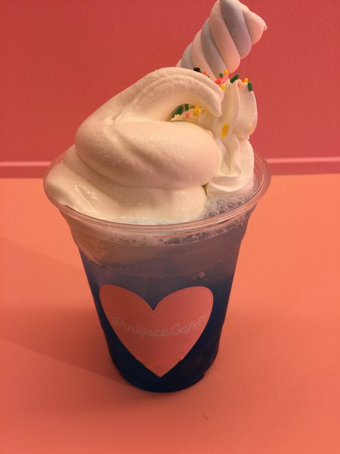 「ピンクジャックカフェ フローズンブルー」の画像検索結果