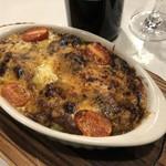 ワイン&チーズ オガーレ - オガーレ特製カレードリア。3種類のチーズかけて焼き上げます♪