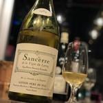 ワイン&チーズ オガーレ - 1984年サンセール。35年も前の白ワイン。驚くほど良い状態。流石ジトン!良い作り手です!