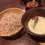 109448536 - 大先輩との会食なので、写メはこの蕎麦のみ(^_^;)