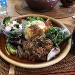 matatabi kitchen - 酵素玄米ランチプレート 1200円