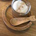 matatabi kitchen - ミニデザートのヨーグルト