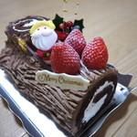 ALICE - 料理写真:ブッシュドノエル(クリスマス限定)