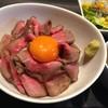 和伊之介 - 料理写真:ローストビーフ丼 980円