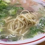 """109454373 - 【ラーメン(550円)】麺のかたさは""""カタ""""にしました。"""