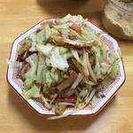 109454381 - 野菜イタメ(500円)