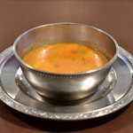 トルコ料理 ゲリック - 【ドネル ケバブ(牛肉)@税込1,080円】レンズ豆のスープ