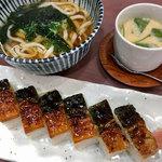 寿しよし - うなぎ箱寿司定食