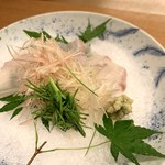 Onarimonharu - 鱸のお造り
