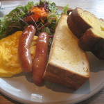 109457017 - NOWADAYS MORNING PLATE ¥1100+¥100+¥150