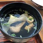 新玉亭 - 肝吸い+100円