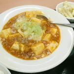 やしろ食堂 - 麻婆豆腐 アップ