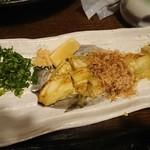 海鮮居酒屋 れん - 焼きナス