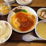大阪王将 - 料理写真:日替わりランチ