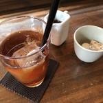 Roji菜園テーブル - 食後のアイスティー