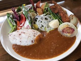 Roji菜園テーブル - Rojiカレープレート