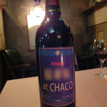 ステーキハウス・チャコ - 名前入りワイン作ってもらいました~