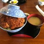志をじ - ソースカツ丼中
