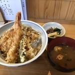 まことや - 【ランチ】天丼 850円(税込)